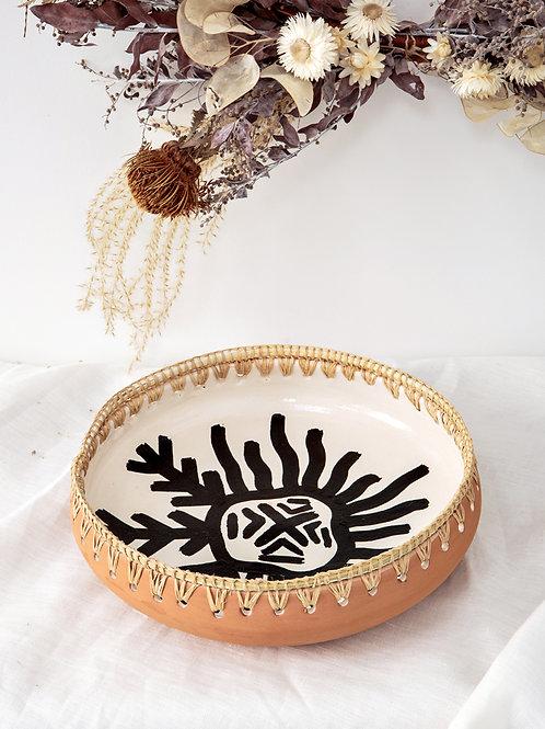 Plat terre cuite GHZAL (moyen)