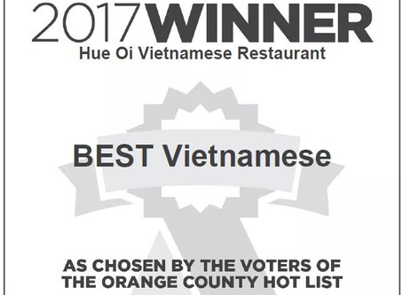 Voted Best Vietnamese 2017