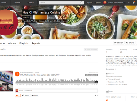 Hue Oi is onSoundCloudnow! Check out our 1st podcast!
