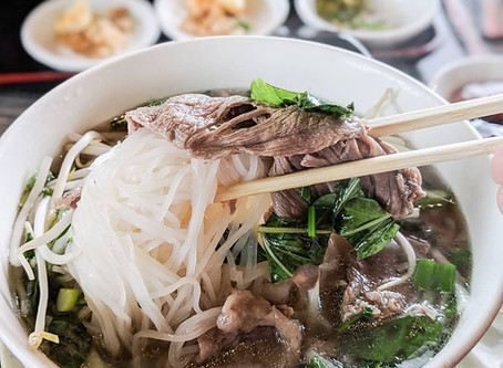 S/O to @mattatouille Eater LA for making the trip to visit Pho Hue Oi in South Bay - Redondo Beach a