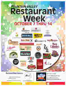 Fountain Valley Restaurant Week