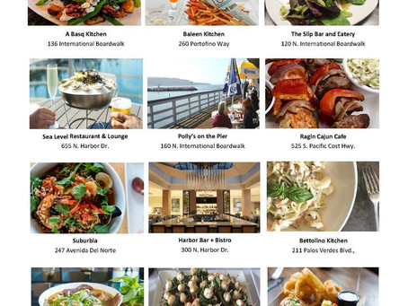 Redondo Beach Restaurant Week ends 01/26/18