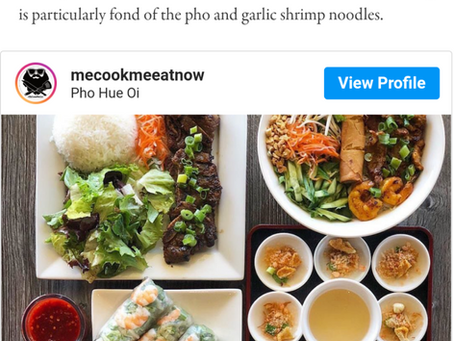 Thank you Eater LA for including us in your 21 Stellar Vietnamese Restaurants in Los Angeles list