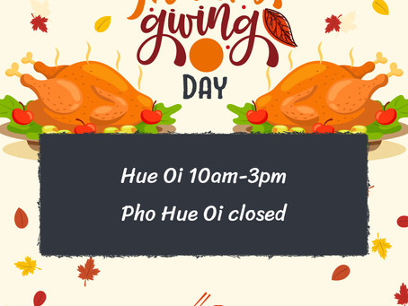 Wishing you and your family a Happy Thanksgiving!    🎄OUR HOLIDAY HOURS 🦃