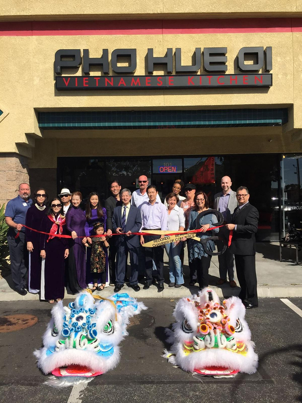 Pho Hue Oi Grand opening