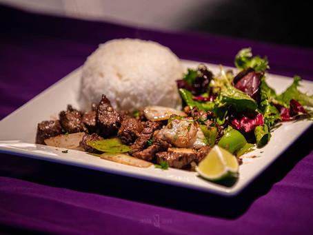 "Cơm Bò Lúc Lắc aka ""Shaken Beef"" Rice is THE ""Meat Lover's"" dish."