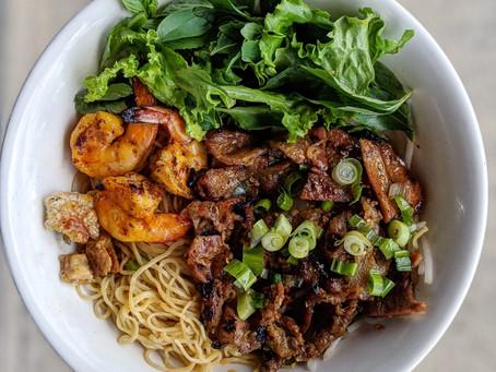 Go BROTH-LESS! 🍜   Mì Khô Huế Ơi aka Dry Egg Noodles is becoming a crowd favorite! 😋