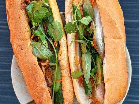 Outdoor Dining & Banh Mi available at both locations