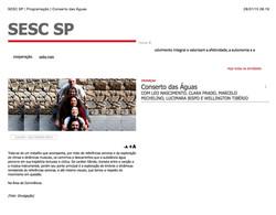 SESC_SP_|_Programação_|_Conserto_das_Águas Léo Nascimento