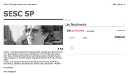 SESC SP | Programação | Léo Nascimento