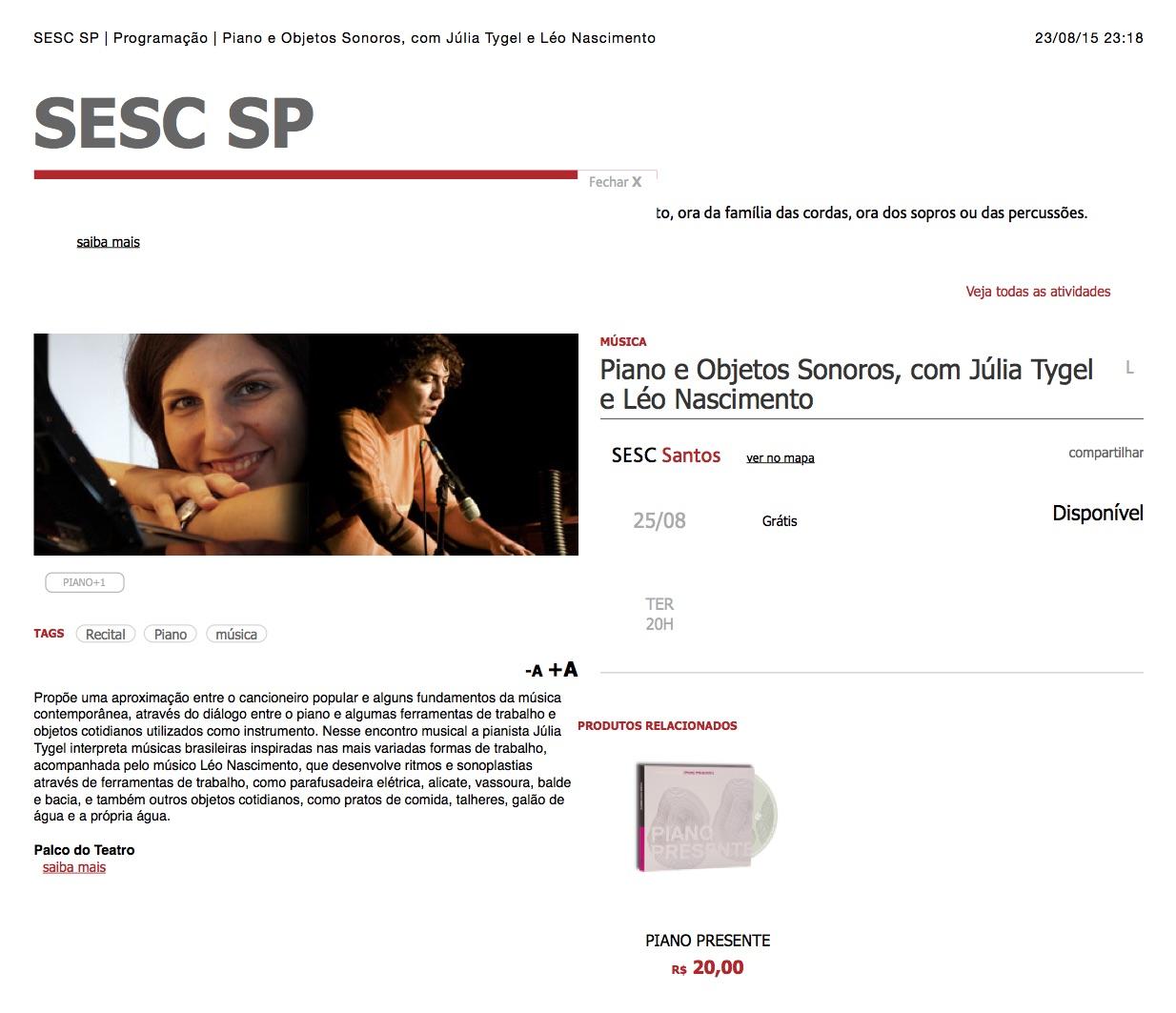 SESC_SP_|_Programação_|_Piano_e_Objetos_Sonoros,_com_Júlia_Tygel_e_Léo_Nascimento