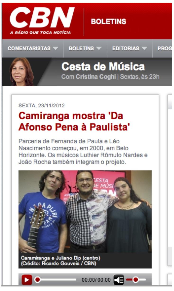 CBN Léo Nascimento