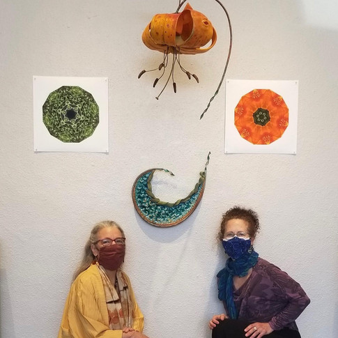 One Nest: Earthworks – works by Elizabeth Addison and Vicki Gunter, March 2021