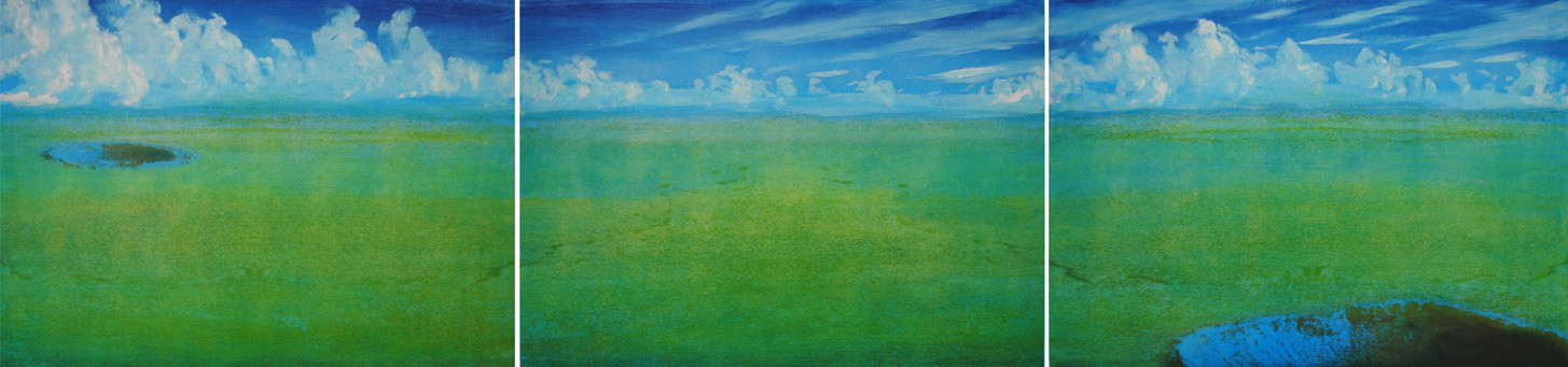 Green Fields, from The Crater Project