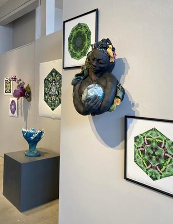 One Nest: Earthworks – works by Elizabeth Addison and Vicki Gunter, March 2021