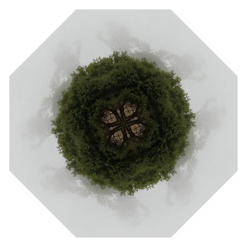 Pandemania Day 178 - Disappearing Act, Mandala 091920