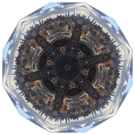 Daily Practice - High NYC, Mandala 082419