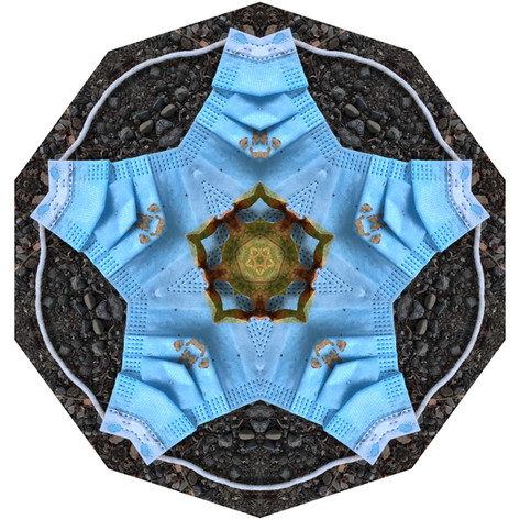 Pandemania Day 121 - Commonly Discarded, Mandala 071520