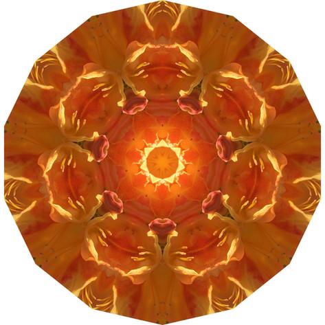Pandemania Day 33 - Golden, Mandala 041820