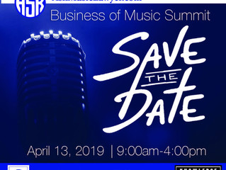 Business of Music Summit!! Get your Tickets