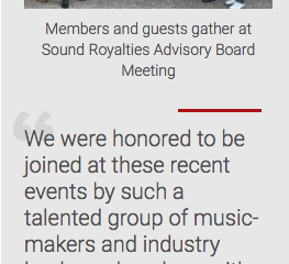 Sound Royalties Holds Successful Advisory Board Meeting with Music Industry Leaders