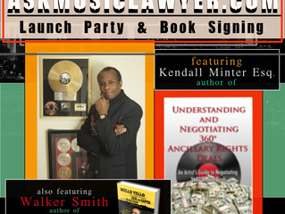 KENDALL MINTER : June 10th Web Launch Party and Book Signing at SUITE LOUNGE