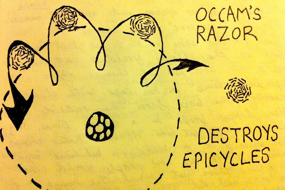 """""""Occam's Razor Destroys Epicycles"""""""