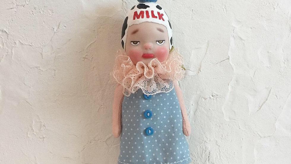 Milk bottle girl