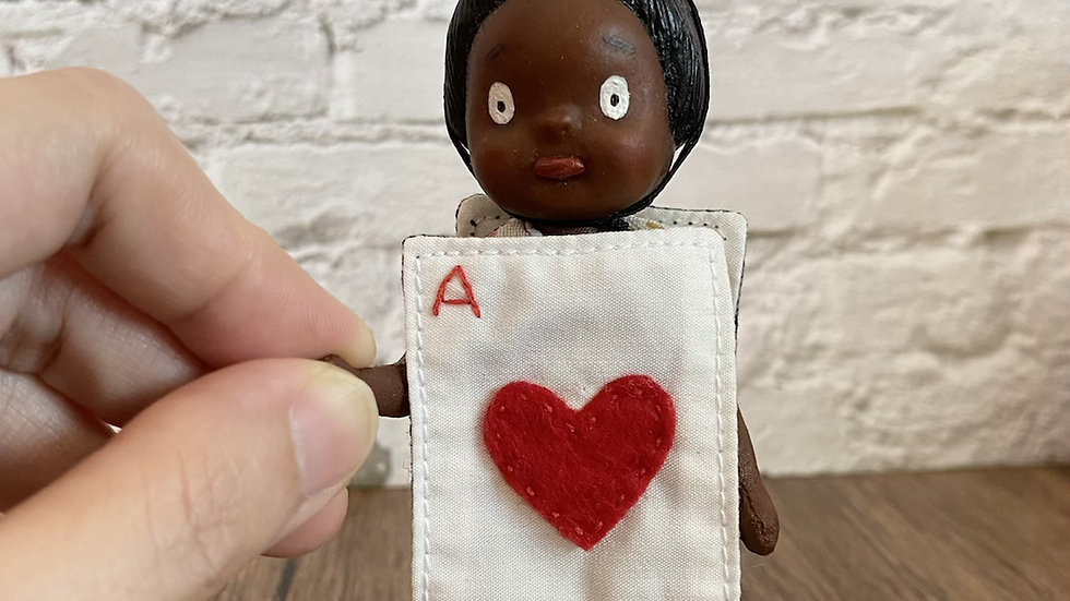 Handmade doll- Aaliyah