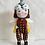 Thumbnail: Handmade Doll wearing rainbow glasses