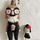 Thumbnail: Handmade doll wearing funny glasses