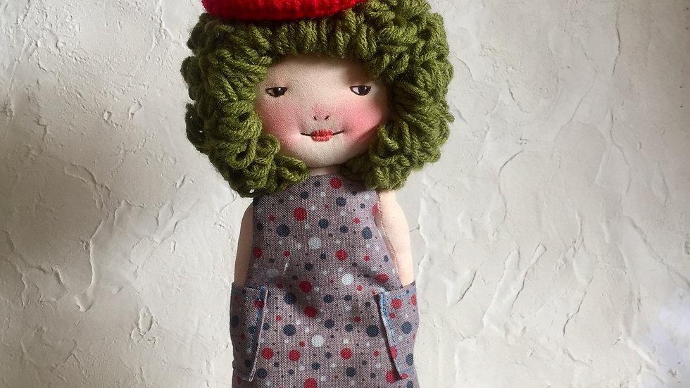 Miss Green Hair