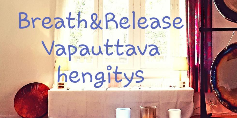 Breath&Release -Vapauttava hengitys