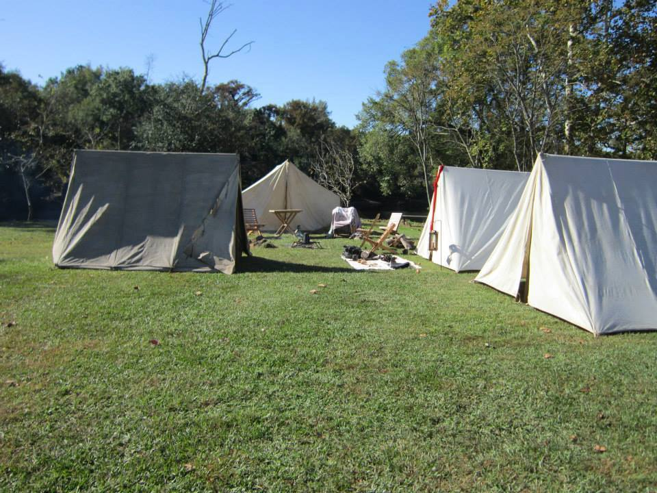 Civil War Campsite