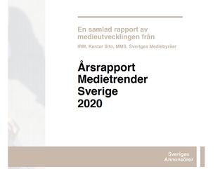 Årsrapport Medietrender 2020
