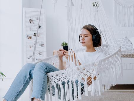 TV-tittandet, läsandet och podd-lyssnandet har ökat 2020