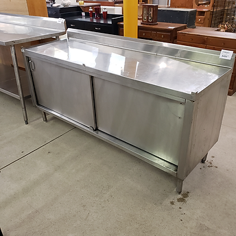 stainless steel storage cabinet $499.99.