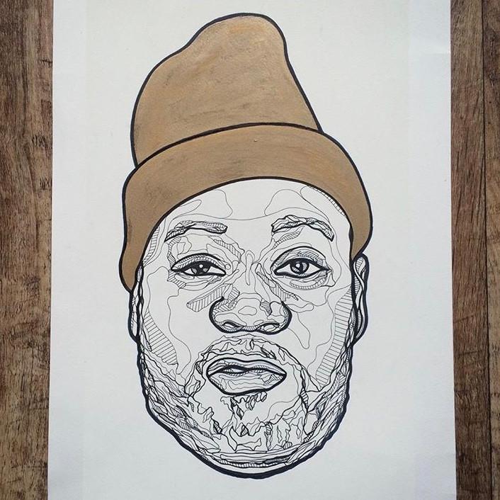 Ghostface Illustration