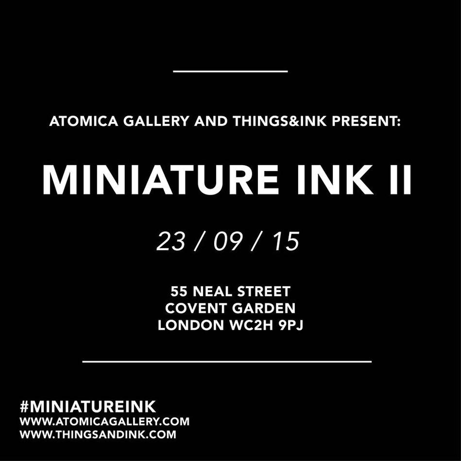 Miniature ink 2