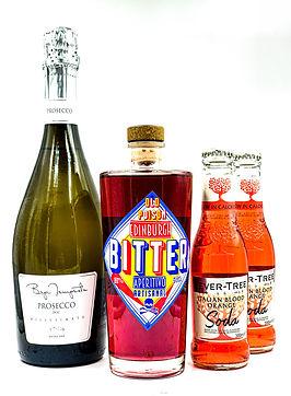 aperitivo bundle prosecco bitter aperitif