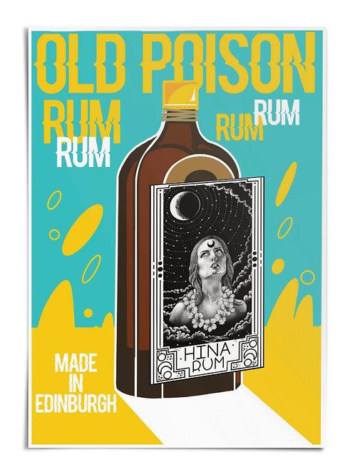 Hina Rum A3 Poster