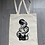 Thumbnail: Old Poison hand screen printed shopping bag