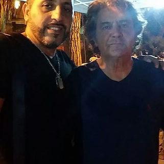 Con il mitico Fausto Leali