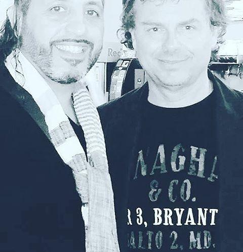 Con il grande Franco Fasano