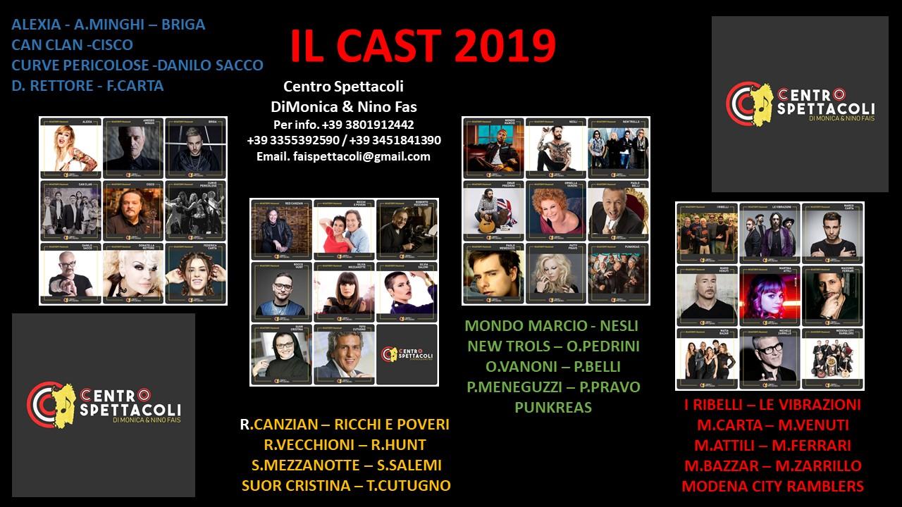 CAST CENTRO SPETTACOLO 22019