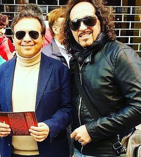 Con il mitico Piero Chiambretti
