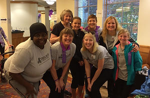 Trilogy Caregivers Supporting SpringRidge and the Alzheimer's Association