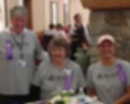 Caregivers at SpringRidge at the Walk to Remember
