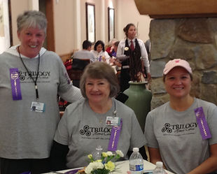 Caregivers at SpringRidge at the Walk to Remember