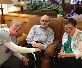 Caregivers and Clients Enjoying the Day